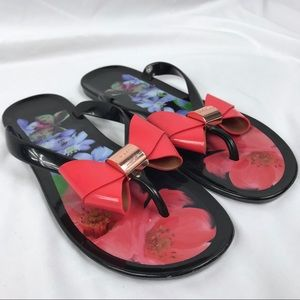 TED BAKER London Ettiea Jelly Flip Flop